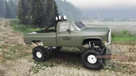 Chevrolet K5 Blazer M1008 [03.03.16] для Spin Tires