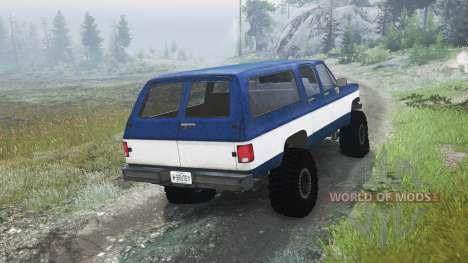 Chevrolet Suburban 1982 [03.03.16] для Spin Tires