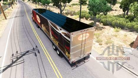 Скин Tim Hortons на полуприцеп для American Truck Simulator