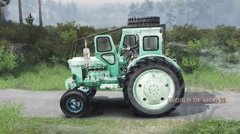 Т-40 [зелёный][03.03.16] для Spin Tires