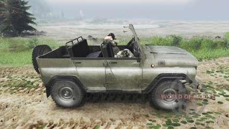УАЗ-3151 [03.03.16] для Spin Tires