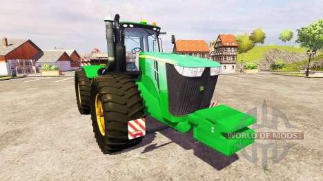 John Deere 9510R v2.0 для Farming Simulator 2013