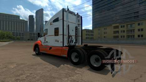 Navajo Express Inc. skin for Kenworth T680 для American Truck Simulator