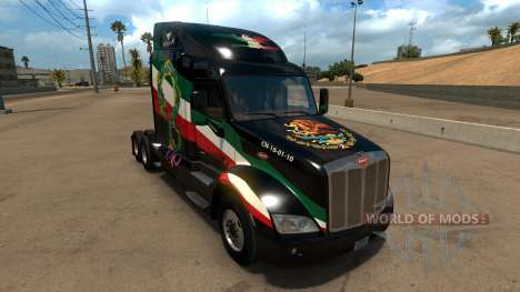 Skin Mexico Peterbilt 579 для American Truck Simulator