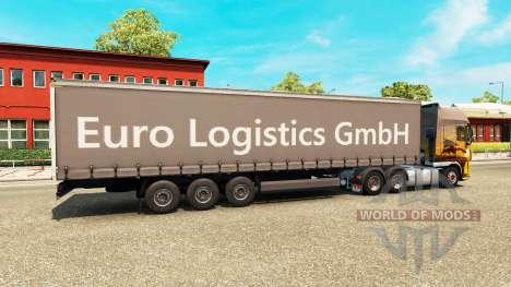 Полуприцеп Euro Logistics GmbH для Euro Truck Simulator 2