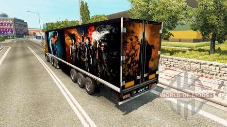 Полуприцеп Batman для Euro Truck Simulator 2