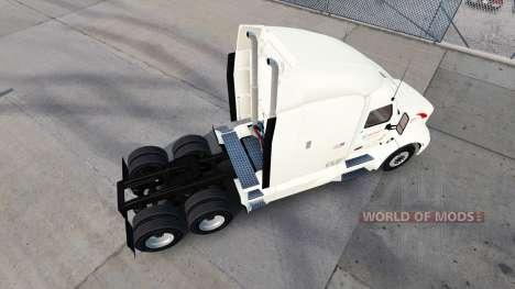 Скин Wallbert на тягач Peterbilt для American Truck Simulator