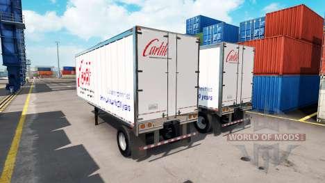 Скин Carlile на полуприцеп для American Truck Simulator
