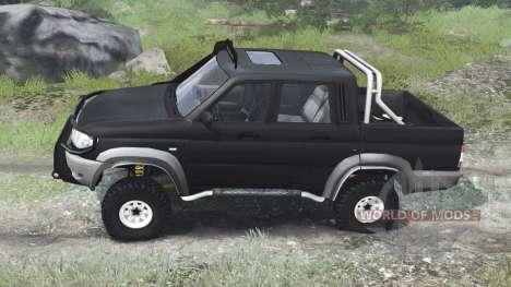 УАЗ-23632 [03.03.16] для Spin Tires