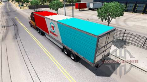 Полуприцеп-рефрижератор для American Truck Simulator