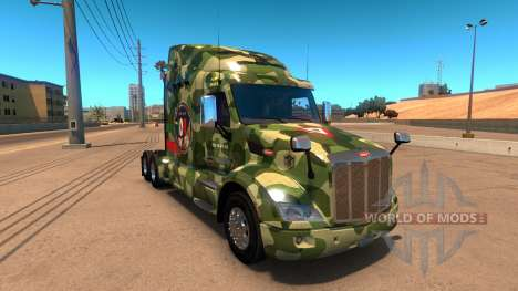 FAM скин для Peterbilt 579 для American Truck Simulator