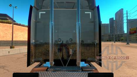Dream скин для Peterbilt 579 для American Truck Simulator