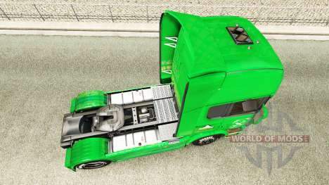 Скин Raiffeisen на тягач Scania для Euro Truck Simulator 2