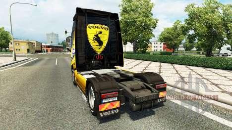 Скин Volvo Special 2012 на тягач Volvo для Euro Truck Simulator 2