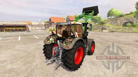 Fendt 724 Vario SCR [military] v3.0 для Farming Simulator 2013