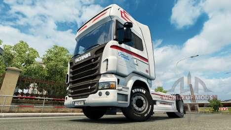 Скин Coppenrath & Wiese v1.2 для Euro Truck Simulator 2
