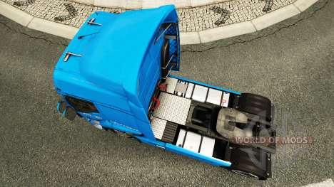 Скин Carstensen на тягач Renault для Euro Truck Simulator 2