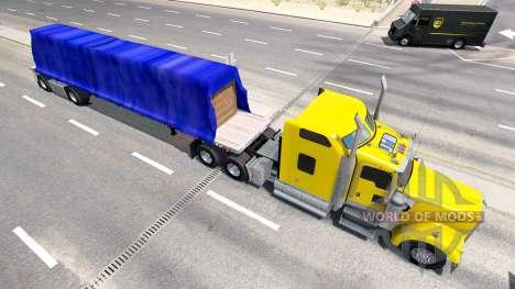 Новые полуприцепы в трафике для American Truck Simulator