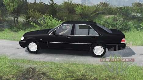 Mercedes-Benz S600 (W140)[03.03.16] для Spin Tires