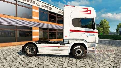 Скин Coppenrath & Wiese v1.1 на тягач Scania для Euro Truck Simulator 2