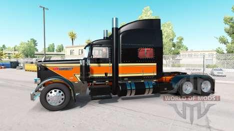 Скин Flat Top Transport на тягач Peterbilt 389 для American Truck Simulator