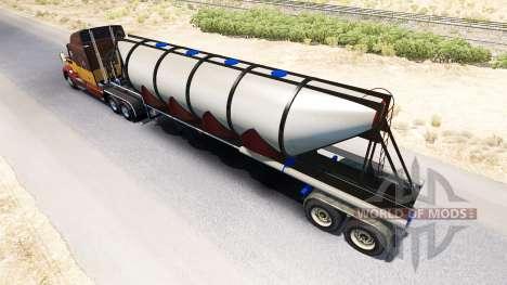 Полуприцеп цементовоз для American Truck Simulator