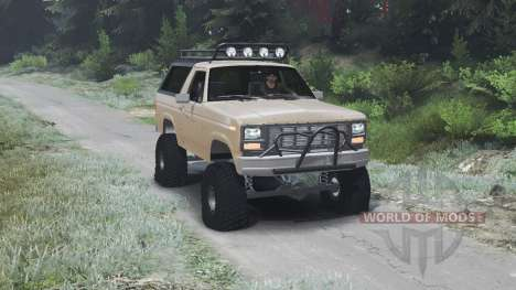 Ford Bronco [03.03.16] для Spin Tires