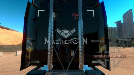 Xbox скин для Peterbilt 579 для American Truck Simulator