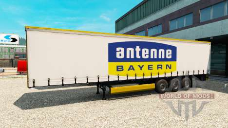 Полуприцеп Antenne Bayern для Euro Truck Simulator 2
