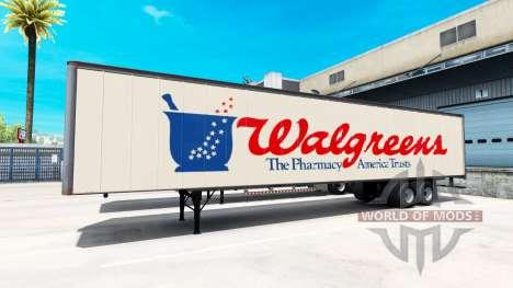 Полуприцеп Walgreens для American Truck Simulator