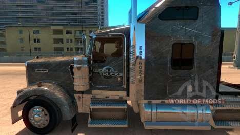 Kenworth W900 SCS Paintjob для American Truck Simulator