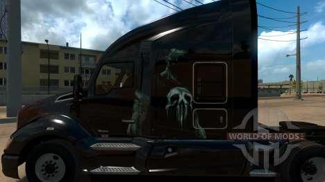 Skin Punisher for Kenworth T680 для American Truck Simulator