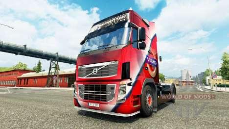 Скин Volvo Special на тягач Volvo для Euro Truck Simulator 2