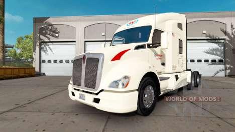 Скин Wallbert на тягач Kenworth для American Truck Simulator