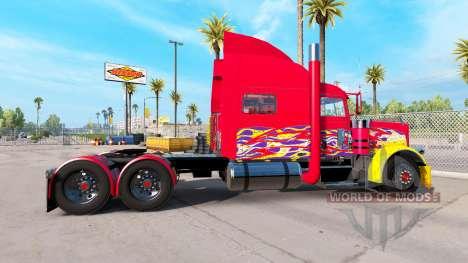 Скин Pick-up на тягач Peterbilt 389 для American Truck Simulator