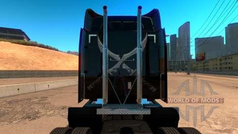 Perbilt 579 Rogue and Genie skin для American Truck Simulator