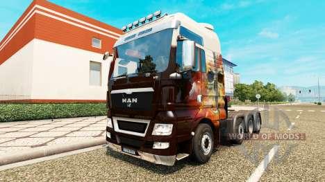 MAN TGX 8x8 для Euro Truck Simulator 2