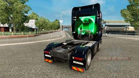Скин AMD FX на тягач Scania для Euro Truck Simulator 2