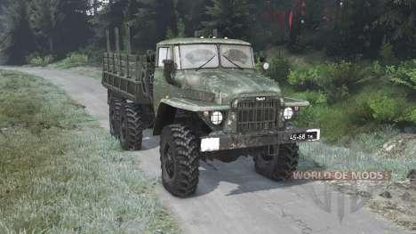 Урал-375 [03.03.16] для Spin Tires
