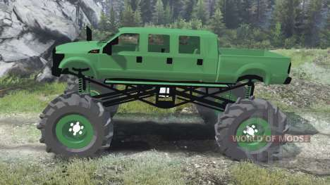 Ford F-350 [six doors][03.03.16] для Spin Tires