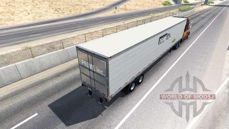 Скин Prime Inc. на полуприцеп для American Truck Simulator