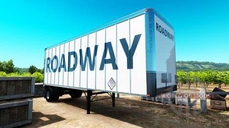 Скин RoadWay на полуприцеп для American Truck Simulator