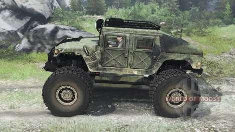 HMMWV M-1025 [03.03.16] для Spin Tires