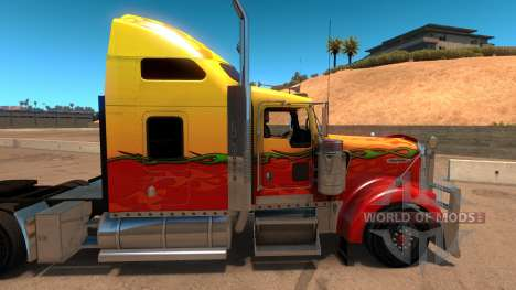 Kenworth W900 Sunny paintjob для American Truck Simulator