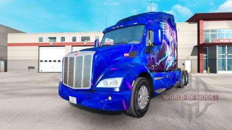 Скин Eagle на тягач Peterbilt для American Truck Simulator