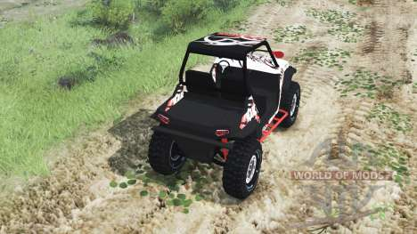 Polaris RZR XP 1000 Turbo [03.03.16] для Spin Tires