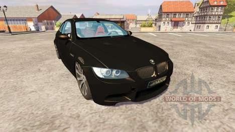 BMW M3 для Farming Simulator 2013