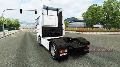 Скин J. Simmerer на тягач Mercedes-Benz для Euro Truck Simulator 2