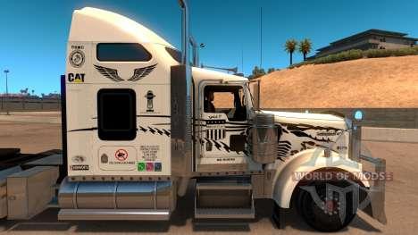 Uncle D Logistics - Master Craft Kenworth W900 S для American Truck Simulator