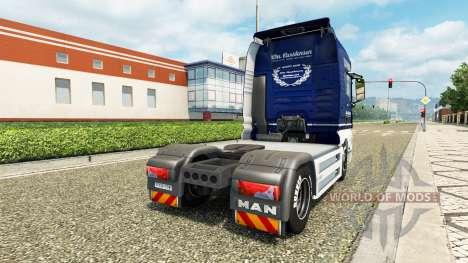 Скин Carstensen на тягач MAN v2.0 для Euro Truck Simulator 2